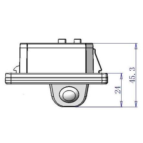 Камера заднього виду для BMW Прев'ю 3