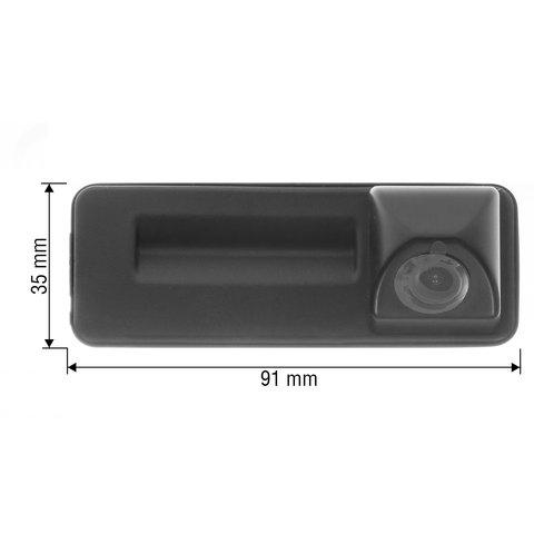 Камера заднего вида в ручку багажника для Skoda Fabia 12/13/14/15 г.в. Превью 1