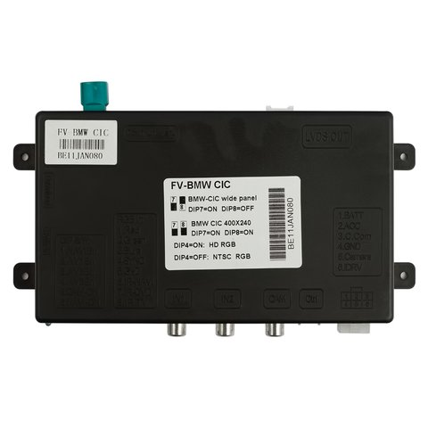 Interface de video para BMW con sistema CIC (conector redondo) Vista previa  1