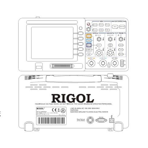 Цифровий осцилограф змішаних сигналів RIGOL DS1052D Прев'ю 7