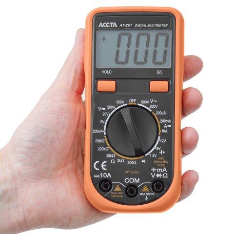 Цифровий мультиметр Accta AT-201 Прев'ю 4