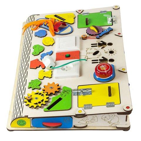 Бізіборд GoodPlay Дошка для розвитку з нахилом і підсвічуванням (38×56×9) Прев'ю 4