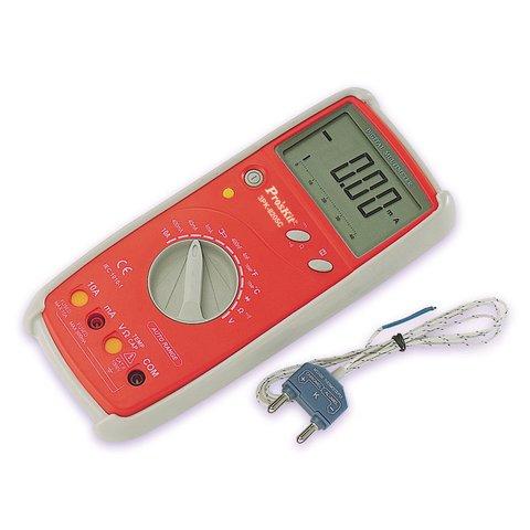 Digital Multimeter Pro'sKit 3PK-8205C Preview 1